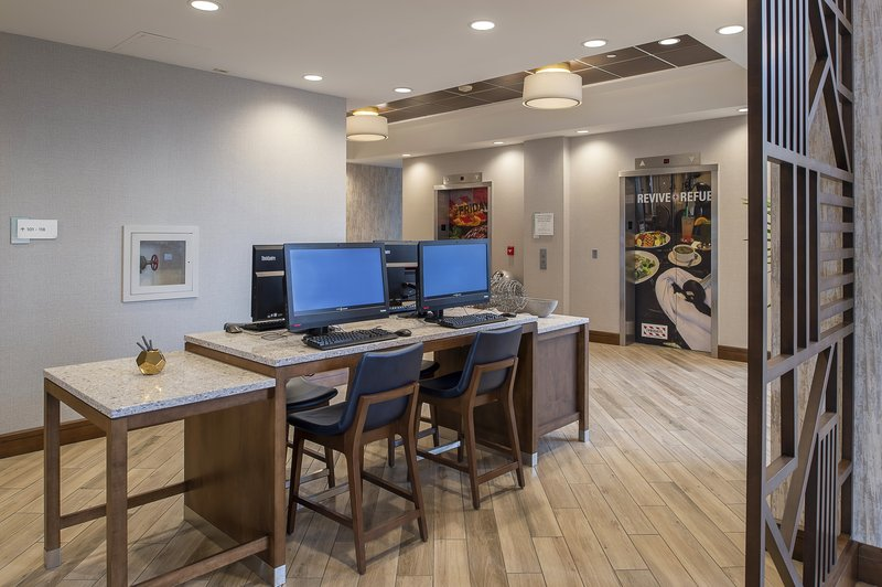 Crowne Plaza St. Louis Airport-Business Center Located in the Main Lobby<br/>Image from Leonardo