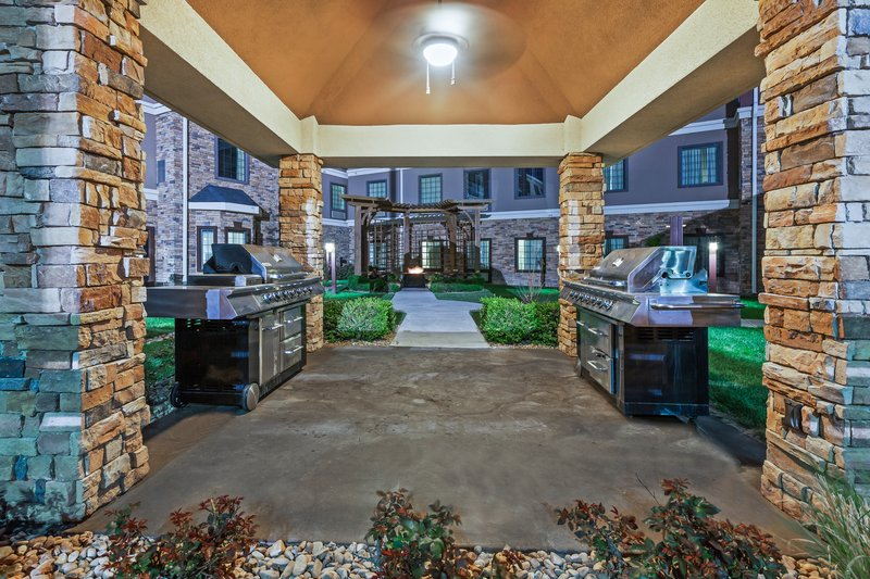 Staybridge Suites Amarillo - Western Crossing-Grill your dinner at on our complimentary gas grills.<br/>Image from Leonardo