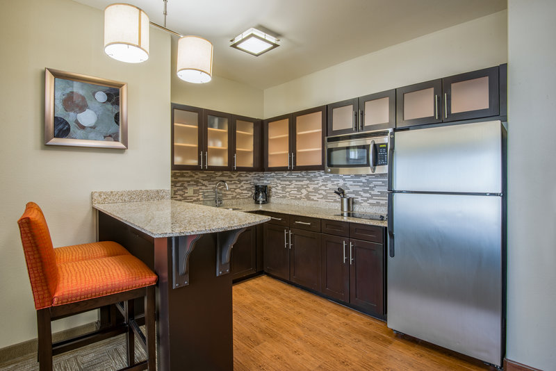 Staybridge Suites Amarillo - Western Crossing-All suites a have a fully equipped kitchen.<br/>Image from Leonardo