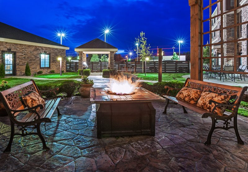 Staybridge Suites Amarillo - Western Crossing-Enjoy the firepit at Staybridge Suites with friends and family.<br/>Image from Leonardo
