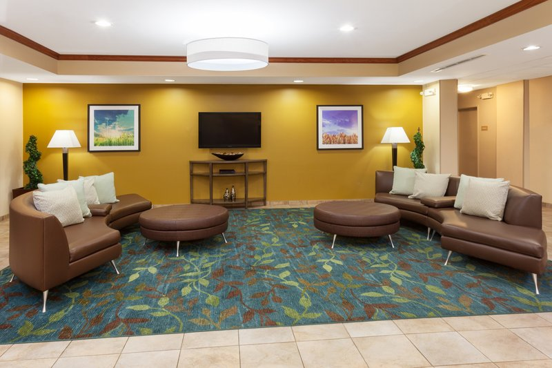 Candlewood Suites Aurora-Naperville-Newly Renovated lobby <br/>Image from Leonardo