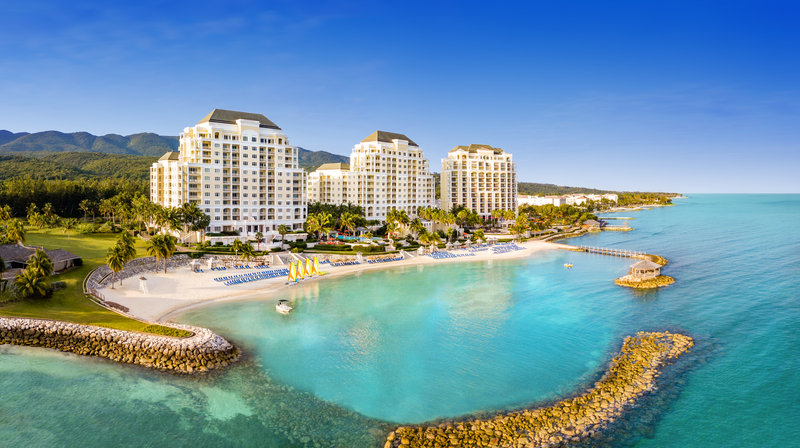 Jewel Grande Montego Bay Resort & Spa  - Aerial View of All Towers <br/>Image from Leonardo