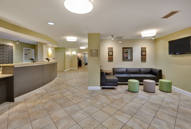 Candlewood Suites Dallas Market Centre-Refreshed lobby entrance<br/>Image from Leonardo