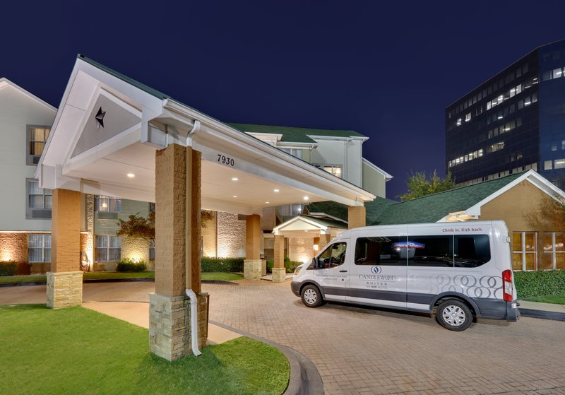 Candlewood Suites Dallas Market Centre-Special Delivery of Guests from Dallas Love Field Airport<br/>Image from Leonardo
