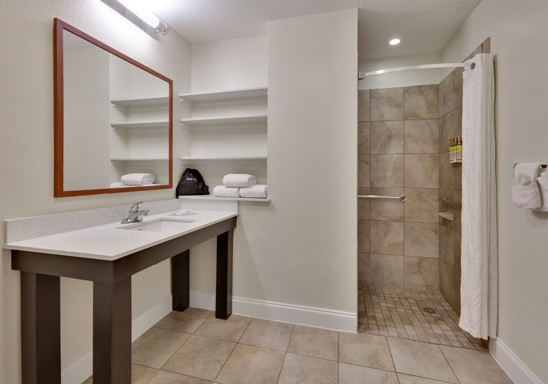 Candlewood Suites Dallas Market Centre-Guest Bathroom <br/>Image from Leonardo