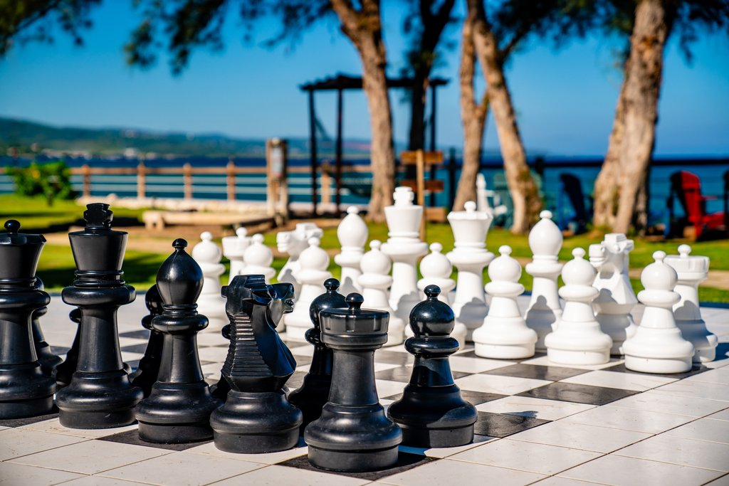 Jewel Paradise Cove Adult Beach Resort -Lifesized Chess Board<br/>Image from Leonardo