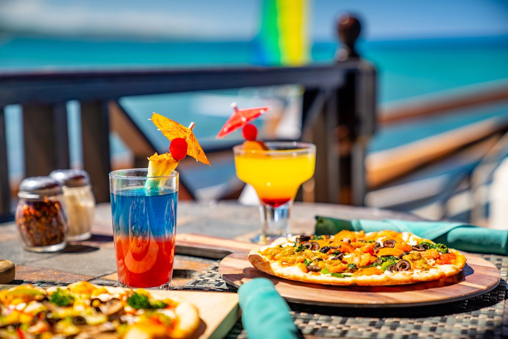 Jewel Paradise Cove Adult Beach Resort -Court Jesters Food and Drink<br/>Image from Leonardo
