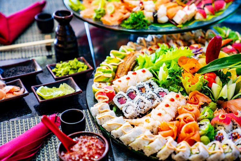 Jewel Paradise Cove Adult Beach Resort  - Golden Saber Sushi Detailed <br/>Image from Leonardo