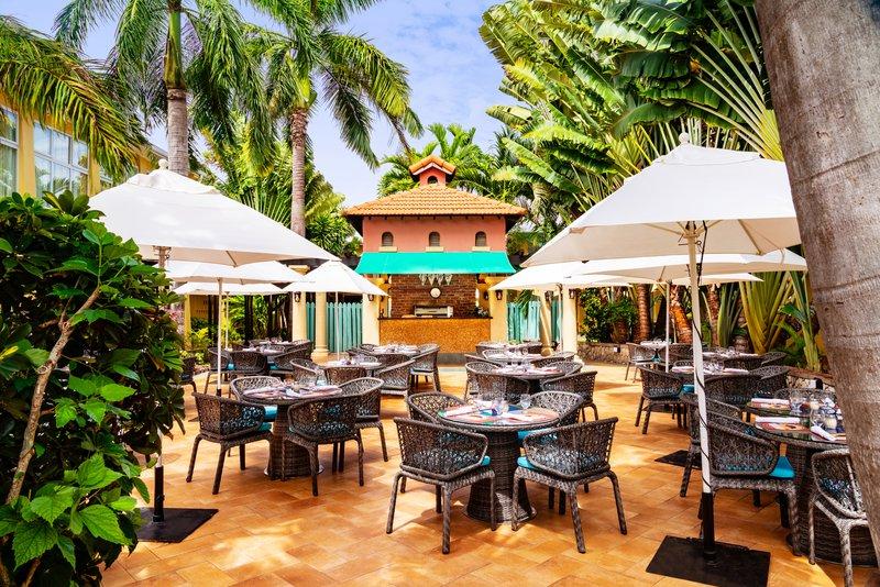 Jewel Runaway Bay Beach And Golf Resort -Court Jesters Outdoor Seating<br/>Image from Leonardo