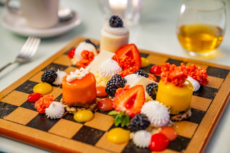 Jewel Runaway Bay Beach And Golf Resort -Platinum Restaurant Dessert<br/>Image from Leonardo