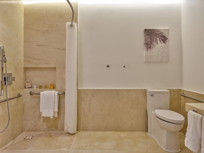Live Aqua Cancun - Bathroom DDP <br/>Image from Leonardo