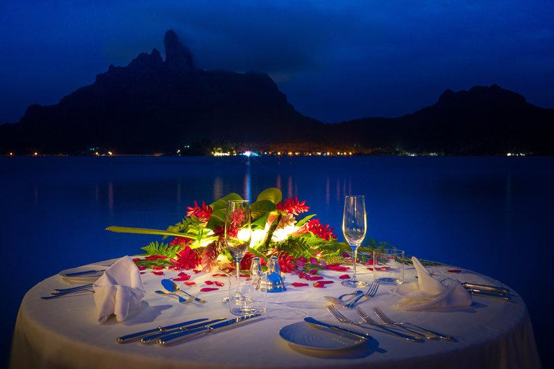 St Regis Resort Bora Bora - Candle Light Dinner In Villa <br/>Image from Leonardo