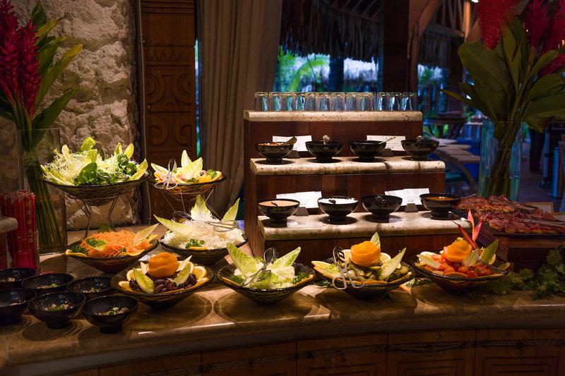 St Regis Resort Bora Bora - Te Pahu - Polynesian Buffet <br/>Image from Leonardo