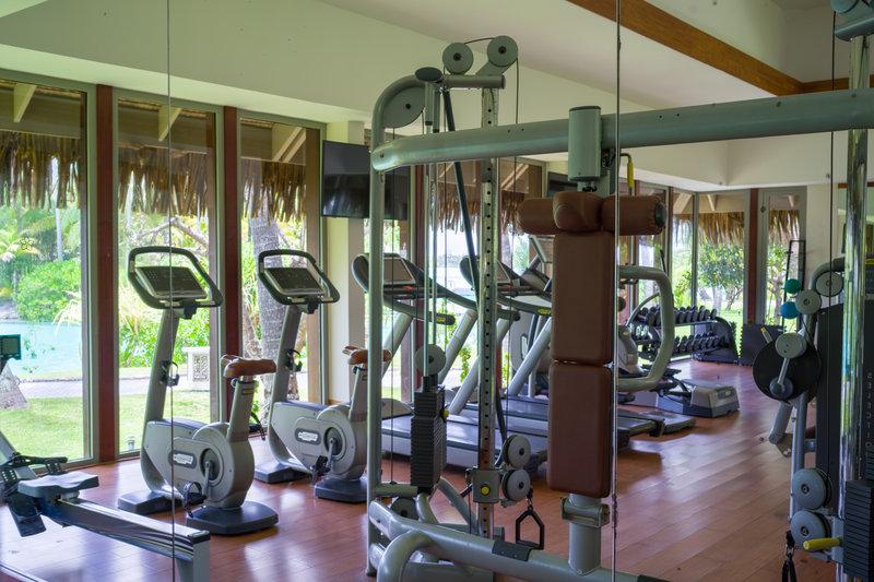 St Regis Resort Bora Bora - Fitness Club <br/>Image from Leonardo