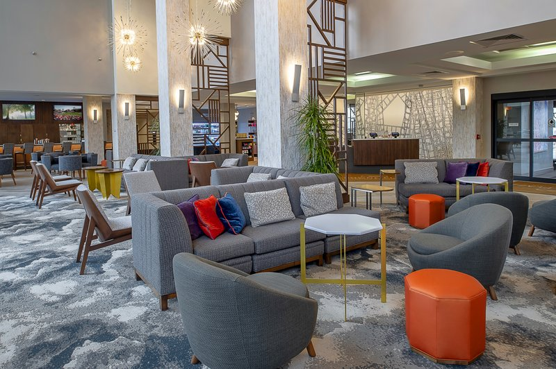 Crowne Plaza St. Louis Airport-Hotel Lobby<br/>Image from Leonardo