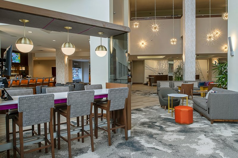 Crowne Plaza St. Louis Airport-The Huddle is located in our Lobby<br/>Image from Leonardo