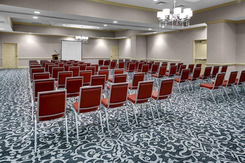Holiday Inn Savannah Historic District-Bonaventure Ballroom with AV, podium, and catering available<br/>Image from Leonardo