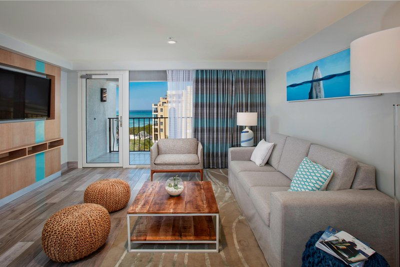 Aruba Marriott Resort - Tradewinds Jr. Suite - Living Area <br/>Image from Leonardo