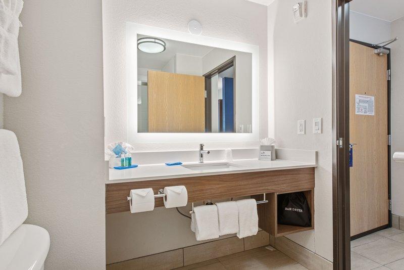 Holiday Inn Express & Suites Salt Lake City West Valley-Guest Bathroom<br/>Image from Leonardo