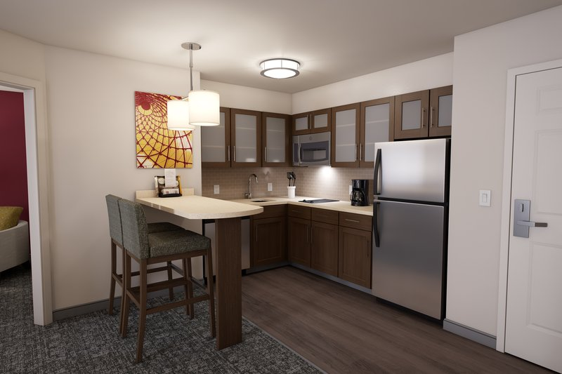Staybridge Suites Vero Beach-Kitchen Area Guestroom <br/>Image from Leonardo