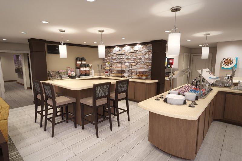 Staybridge Suites Vero Beach-Guest Breakfast Buffet Dining Area<br/>Image from Leonardo