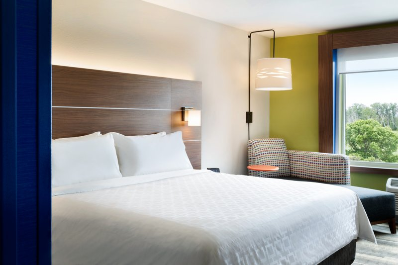 Holiday Inn Express And Suites Madisonville-King Bed Guest Room<br/>Image from Leonardo