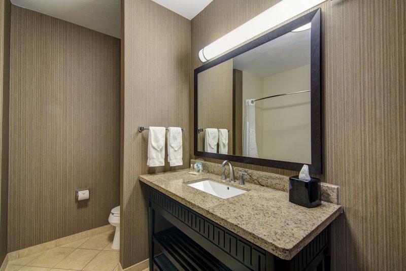 Holiday Inn Arlington NE-Rangers Ballpark-Suite Guest Bathroom<br/>Image from Leonardo