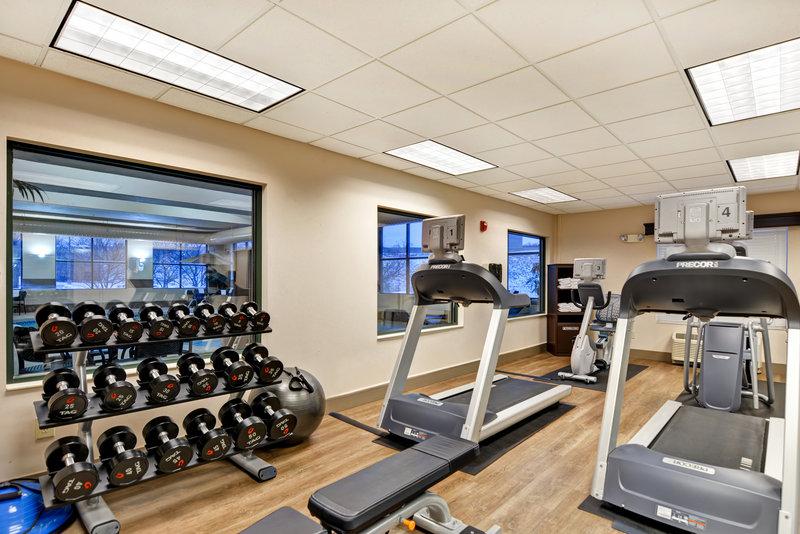 Holiday Inn Express & Suites Milwaukee-New Berlin-Fitness Center<br/>Image from Leonardo