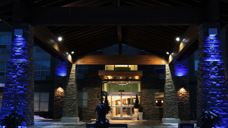 Holiday Inn Express Golden-Kicking Horse-Exterior Feature<br/>Image from Leonardo
