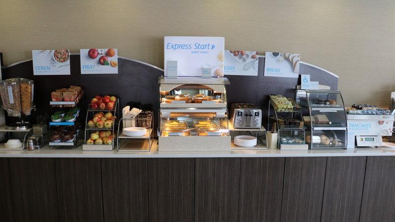 Holiday Inn Express Golden-Kicking Horse-Breakfast Area<br/>Image from Leonardo