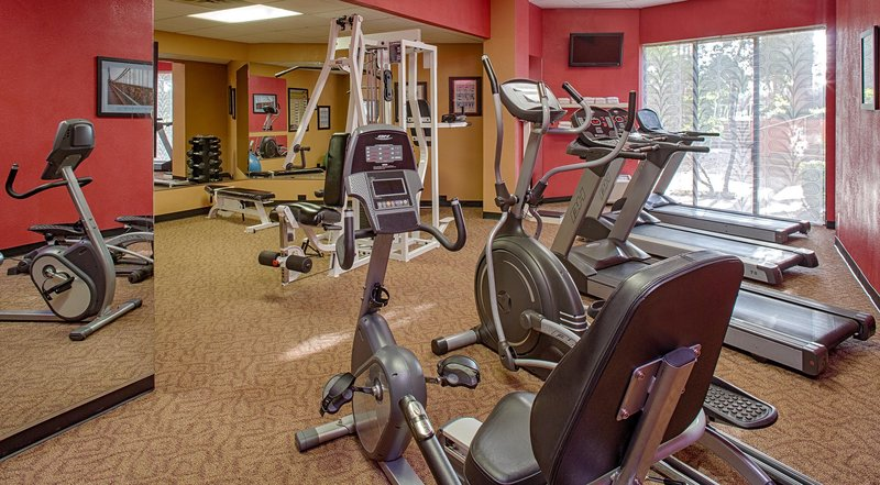 Crowne Plaza Austin-Keeping a routine is important - our gym is fully equipped.<br/>Image from Leonardo