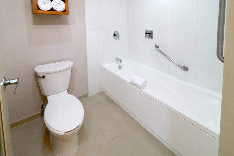 Staybridge Suites Guadalajara Expo-Guest Bathroom<br/>Image from Leonardo