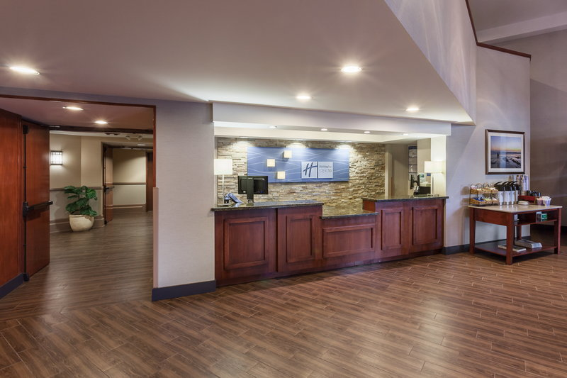 Holiday Inn Express & Suites Carpinteria-Front Desk Reception<br/>Image from Leonardo