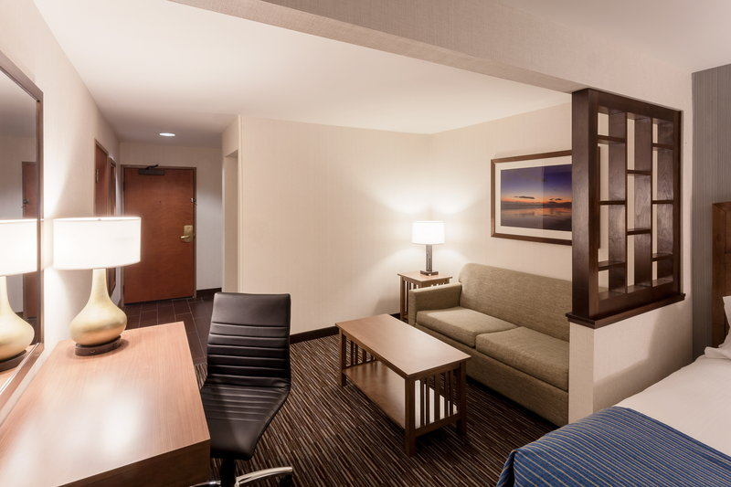 Holiday Inn Express & Suites Carpinteria-Guest Room Seating Area<br/>Image from Leonardo