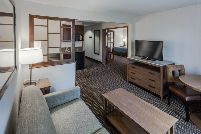 Holiday Inn Express & Suites Carpinteria-2 Room Suite - Living Room with Wet Bar<br/>Image from Leonardo