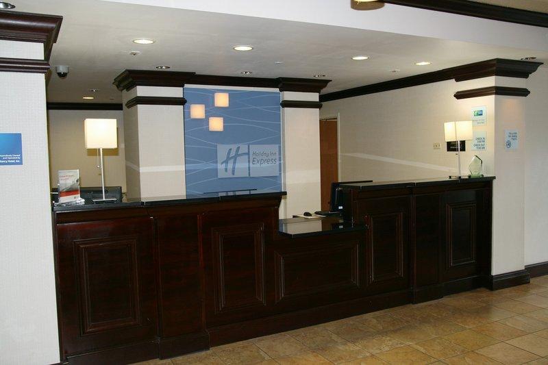 Holiday Inn Express & Suites Brooksville West-Front Desk<br/>Image from Leonardo
