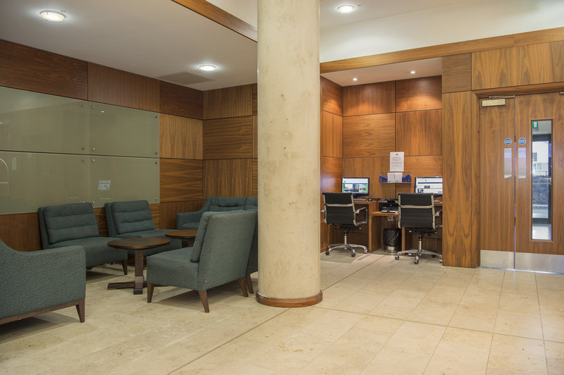 Holiday Inn Express Sheffield City Centre-Relax & unwind in the hotel lobby<br/>Image from Leonardo