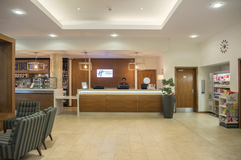Holiday Inn Express Sheffield City Centre-24 hour manned reception<br/>Image from Leonardo