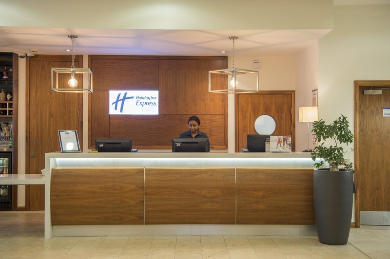 Holiday Inn Express Sheffield City Centre-Warm Yorkshire welcome at our front desk<br/>Image from Leonardo