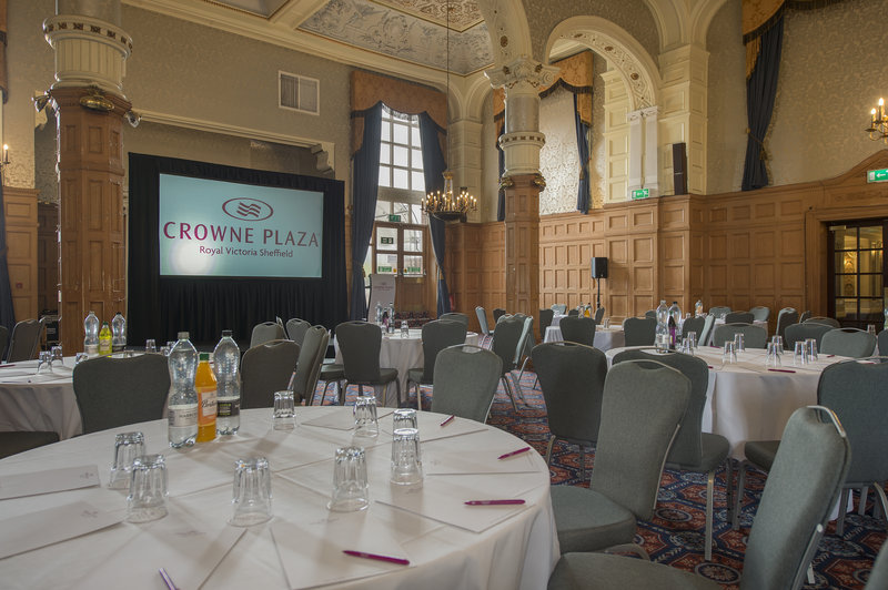 Holiday Inn Sheffield-The Ballroom can also accommodate 400 delegates in a theatre setup<br/>Image from Leonardo