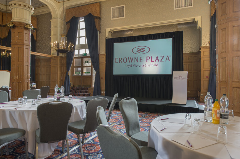 Holiday Inn Sheffield-The Ballroom is ideal for large Conferences<br/>Image from Leonardo