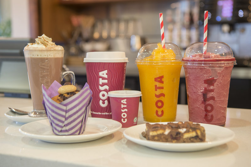 Holiday Inn Express Sheffield City Centre-Costa Coffee served 24 hours at the bar<br/>Image from Leonardo