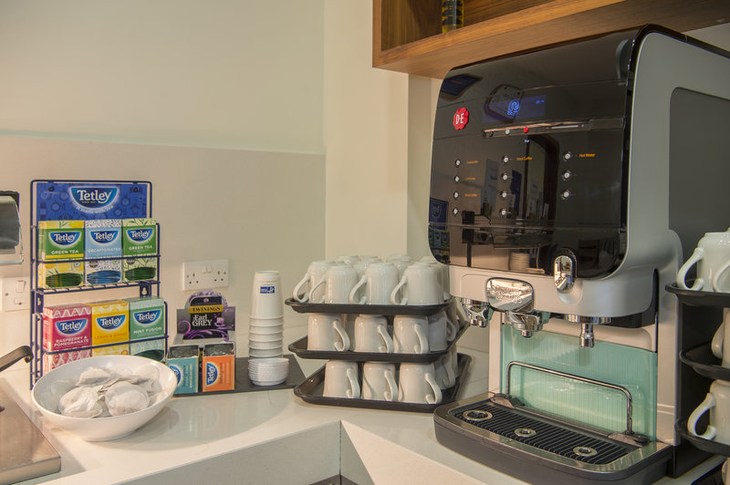 Holiday Inn Express Sheffield City Centre-A variety of hot drinks are on offer during Breakfast<br/>Image from Leonardo