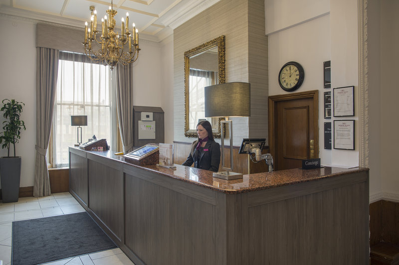 Holiday Inn Sheffield-Our Reception team are available to assist 24 hours a day<br/>Image from Leonardo