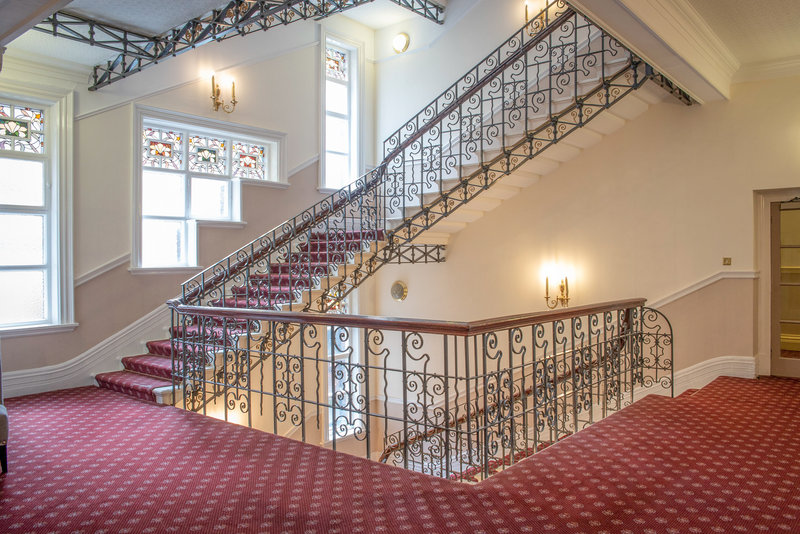 Holiday Inn Sheffield-Elegant cast iron staircases at the hotel<br/>Image from Leonardo