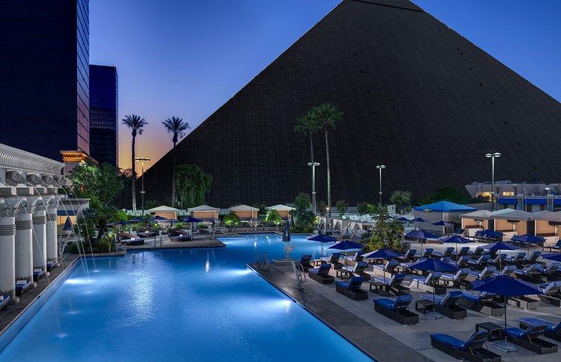 Luxor Resort and Casino-Luxor North Pool<br/>Image from Leonardo