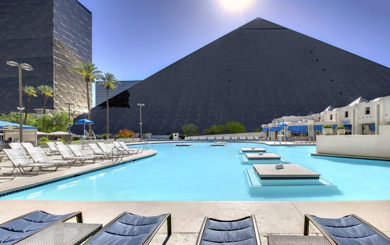 Luxor Resort and Casino - Luxor South Pool <br/>Image from Leonardo