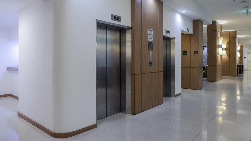 Staybridge Suites Guadalajara Expo-Elevator Lobby<br/>Image from Leonardo