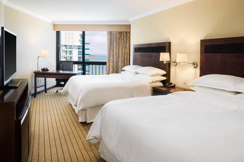 Sheraton Santo Domingo-Queen/Queen Standard Guest Room<br/>Image from Leonardo