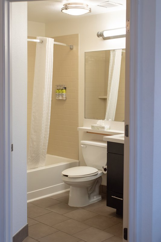 Candlewood Suites Pittsburgh-Airport-Guest Bathroom<br/>Image from Leonardo